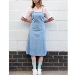 Vintage Denim Midi Dress by Denim Co.